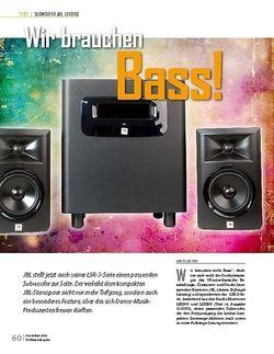 Professional Audio JBL LSR 310 S