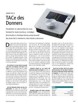 Recording Magazin Zoom TAC-2