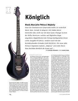 Gitarre & Bass Music Man John Petrucci Majesty