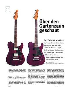 Gitarre & Bass G&L Deluxe II & Junior II, E-Gitarren