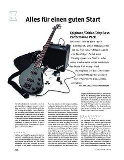 Gitarre & Bass Epiphone/Tobias Toby Bass Performance Pack
