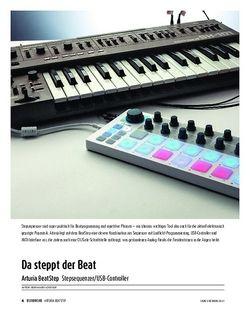 Sound & Recording Arturia BeatStep - Stepsequenzer/USB-Controller