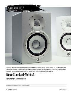 Sound & Recording Yamaha HS7 - Nahfeldmonitor