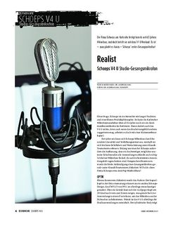 Sound & Recording Schoeps V4 U - Studio-Gesangsmikrofon
