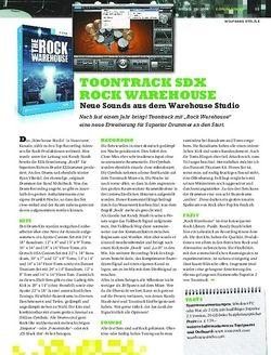 Sticks Toontrack SDX Rock Warehouse