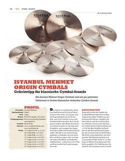 Sticks Istanbul Mehmet Origin Cymbals