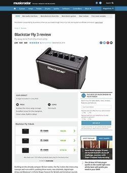 MusicRadar.com Blackstar Fly 3