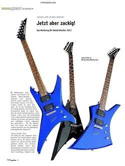 Guitar Gear E-Gitarre - Jackson, Cort, Cruiser, Martinez
