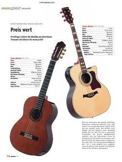 Guitar Gear Akustik - Harley Benton HBJC 503 CEQ & HBC 109C