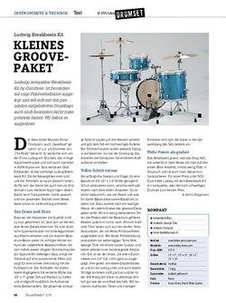 Drumheads Ludwig Breakbeats Kit