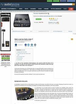 Audiofanzine.com Novation Audiohub 2x4