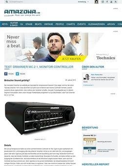 Amazona.de Test: Drawmer MC 2.1, Monitor Controller