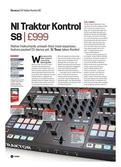 Future Music NI Traktor Kontrol S8