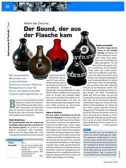 DrumHeads Test: Meinl Ibo Drums - Der Sound, der aus der Flasche kam