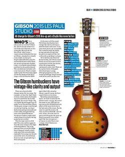 Total Guitar Gibson 2015 Les Paul Studio