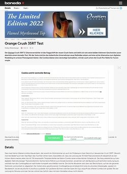 Bonedo.de Orange Crush 35 RT