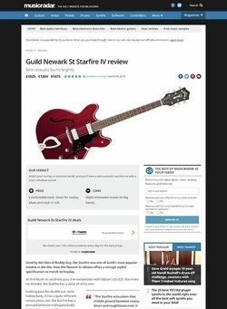 MusicRadar.com Guild Newark St Starfire IV