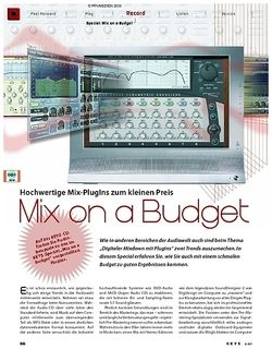 KEYS Special: Mix on a Budget