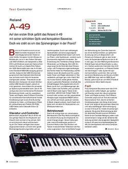 KEYS Roland A-49