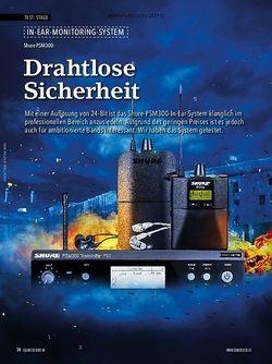 Soundcheck Shure PSM300