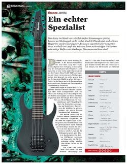 Guitar Ibanez M80M
