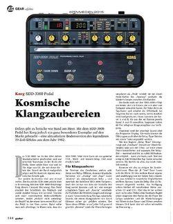 Guitar Korg SDD-3000 Pedal