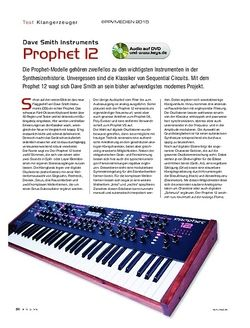 KEYS Dave Smith Instruments Prophet 12