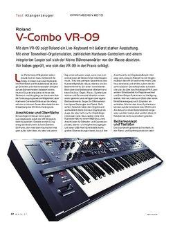 KEYS Roland V-Combo VR-09