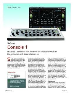 KEYS Softube Console 1