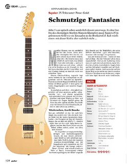 Guitar Squier J5 Telecaster Frost Gold