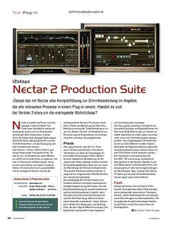 KEYS iZotope Nectar 2 Production Suite