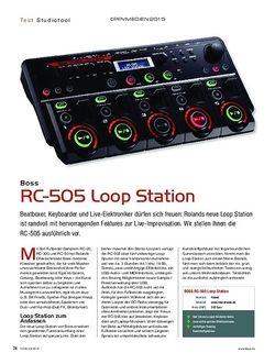 KEYS Boss RC-505 Loop Station