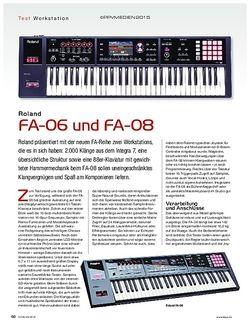 KEYS Roland FA-06 und FA-08