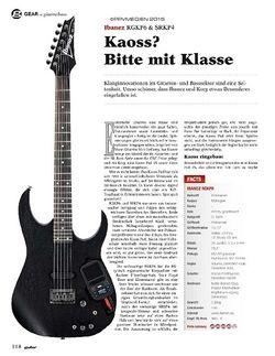 Guitar Ibanez RGKP6 & SRKP4