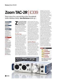 Future Music Zoom TAC-2R