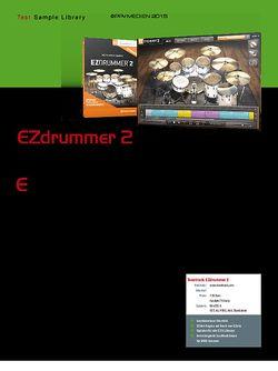 KEYS Toontrack EZDrummer 2