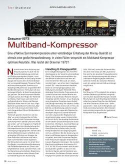 KEYS Drawmer 1973 Multiband-Kompressor
