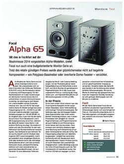 KEYS Focal Alpha 65