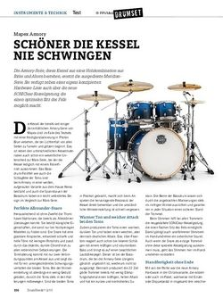 Drumheads Mapex Armory Drumset
