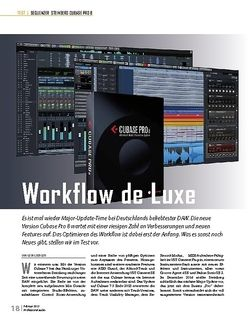 Professional Audio Steinberg Cubase Pro 8