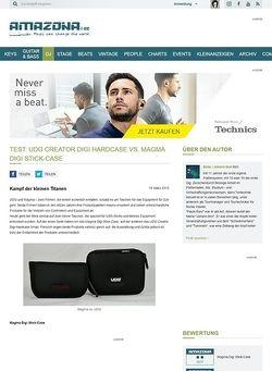 Amazona.de Test: UDG Creator Digi Hardcase vs. Magma Digi Stick-Case