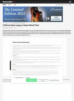 Bonedo.de HoTone Nano Legacy Heart Attack