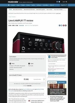 MusicRadar.com Line 6 AMPLIFi TT