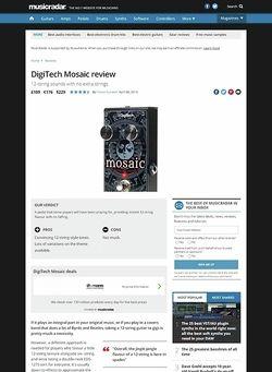 MusicRadar.com DigiTech Mosaic