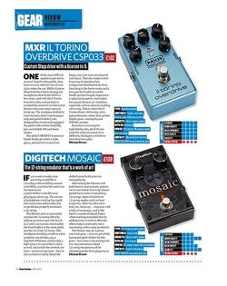 Total Guitar Digitech Mosaic