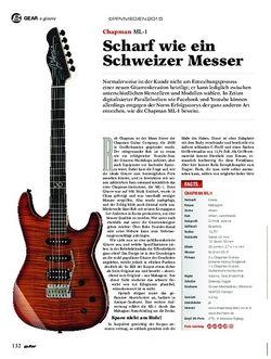 Guitar Chapman ML-1