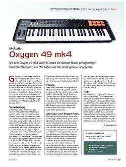 KEYS M-Audio Oxygen 49 mk4