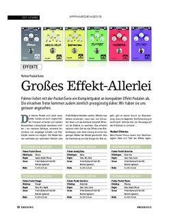 Soundcheck Palmer Pocket Serie