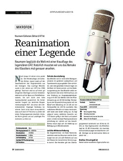 Soundcheck Neumann Collectors Edition U47 fet