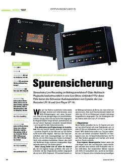 Tastenwelt Cymatic Audio LP-16 und LR-16
